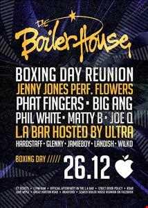 boilerhouse reunion @ Love Apple 26/12/13 warpers vinyl mix!!!!