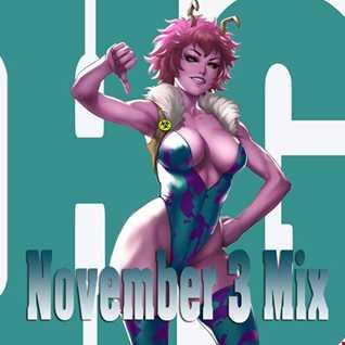 November 3 Mix 2018