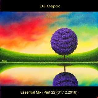 DJ.Gepoc - Essential Mix (Part 22)(31.12.2016)