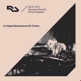 DJ.Gepoc   Reminiscence RA Techno (26.01.2019)