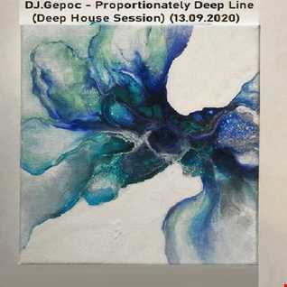 DJ.Gepoc   Proportionately Deep Line (Deep House Session) (13.09.2020)
