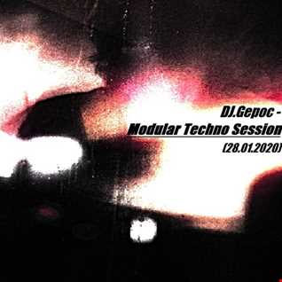 DJ.Gepoc   Modular Techno Session (28.01.2020)