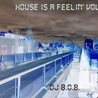 HOUSE IS A FEELIN' VOL.15 DJ B.O.B.