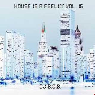 HOUSE IS A FEELIN' VOL.16 DJ B.O.B.