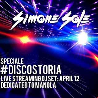 """Simone Sole - diretta facebook del 12 aprile dedicata al """"Disco Storia"""""""