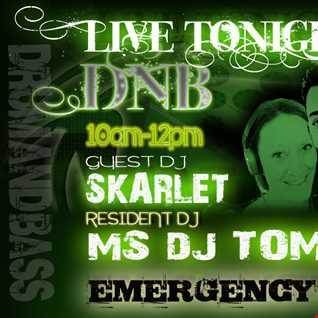 Dj Skarlet B2B MsDjTommi and Mc Stamina Emergency FM  140515 part 2