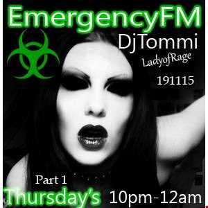 MsDjTommi LIVE EmergencyFM 191115 Pt1
