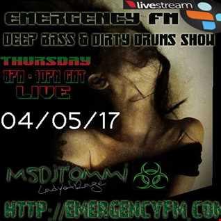 MsDjTommi LadyofRage Live Emergency FM 040517