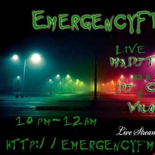 MsDjTommi B2B Dj Crepps & Wilo EmergencyFM Live 160715