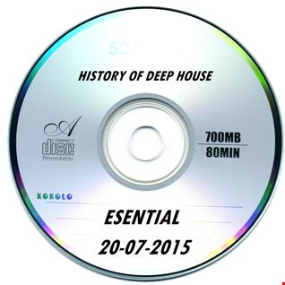 History of Deep House  20 07 2015