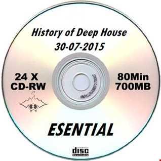 History of Deep House 30 07 2015