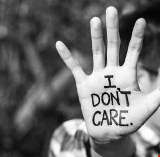 If U Don't Care,  Why Should We