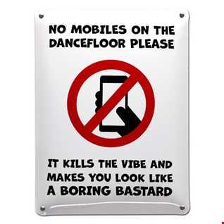 Phones On The Dancefloor Kids These Days