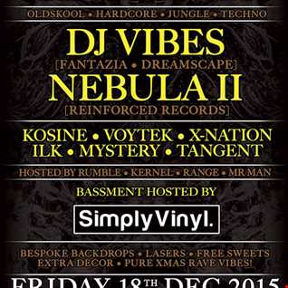DJ MYSTERY - LIVE- JUNGLE TEKNO N FX @ ORIGINATE XMAS @VOLKS IN BRIGHTON-