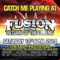 DJs TIMELESS & MYSTERY-FUSION - RETURN OF THE LEGEND 12/04/2014- PROMO DRUM & BASS MINI MIX