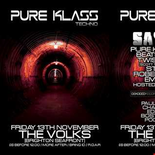 PURE KLASS DJS -HEAVY TECHNO SESSIONS N FX VOL 2 SEPTEMBER MIX 2015-BRIGHTON PROMO MIX
