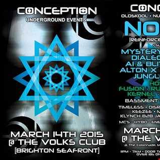 DJ MYSTERY- DRUM & BASS N FX VOL 5 -CONCEPTION UNDERGROUND EVENTS PROMO MIX