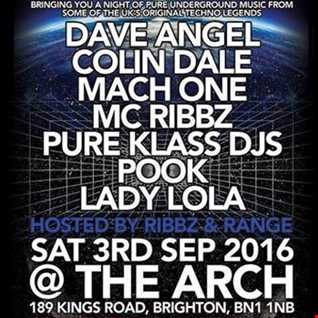 PURE KLASS DJs-TECHNO N FX PROMO MIX FOR EQUINOX @ ARCH IN BRIGHTON SEPTEMBER 3RD 2016