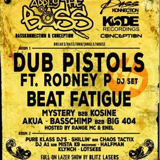 DJs MYSTERY & KOSINE-APPLY THE BASS PROMO BREAKS N FX MIX-CONCORDE 2 -BRIGHTON JULY 4TH
