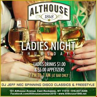 Althouse Classic Disco, Freestyle & Some New Music