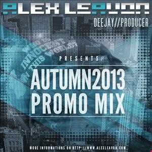 Alex Leavon - Autumn 2013 (Promo Mix)