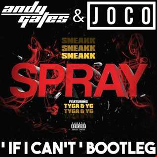 Sneakk ft. Tyga & YG - Spray (Andy Gates & JOCO 'If I Can't' Bootleg) (Dirty)