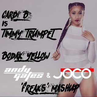 Cardi B Vs Timmy Trumpet - Bodak Yellow (Andy Gates & JOCO 'Freaks' Mashup)