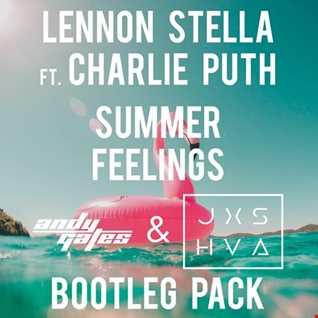 Lennon Stella ft. Charlie Puth Vs Nora En Pure - Summer Feelings vs On The Beach (Andy Gates & JXSHVA Mashup)