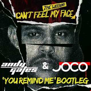 The Weeknd - Can't Feel My Face (Andy Gates & JOCO 'You Remind Me' Bootleg)