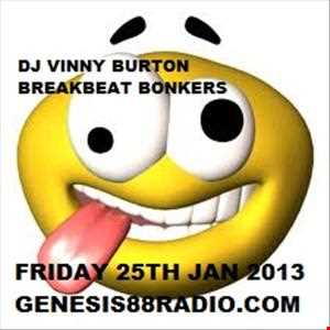 DJ VINNY BURTON   GENESIS88RADIO 15th FEB 2013