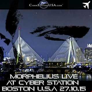 MORPHELIUS LIVE FROM CYBERSTATION USA BOSTON 27:10:15