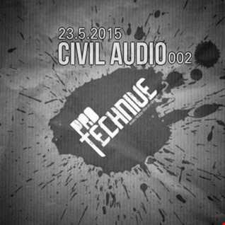 Civil Audio live at protechnive DeepFM radio 23-01-2015