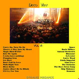 Disco Very (Vol.6)(Strauss Megamix)