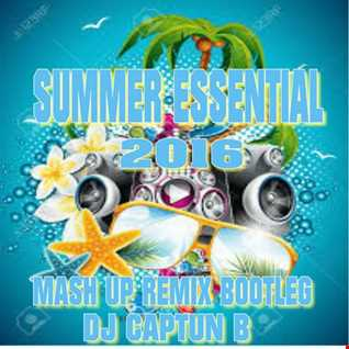 SUMMER ESSENTIAL 2016   DJ CAPTUN B