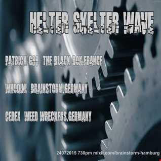 Dj-Set @ Helter Skelter Wave (Brainstorm Hamburg) 24-07-2015