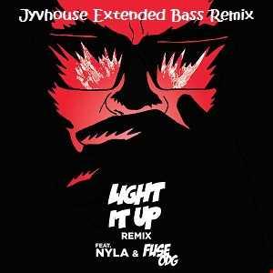 Major Lazer ft Nayla & Fuse ODG   Light It Up (Jyvhouse Extended Bass Remix)