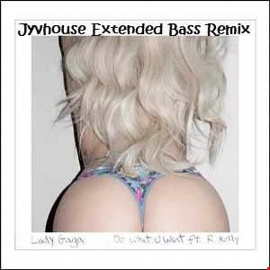Lady Gaga ft R Kelly   Do What You Want (Jyvhouse Extended Bass Remix)