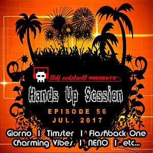 !!!dj redstar!!! - Hands Up Session EP. 56 (Jul. 2017)