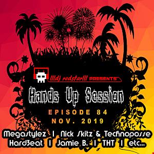 !!!dj redstar!!! - Hands Up Session EP. 84 (Nov. 2019)