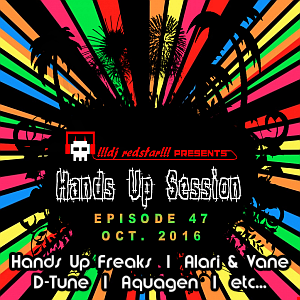 !!!dj redstar!!! - Hands Up Session EP. 47 (Oct. 2016)