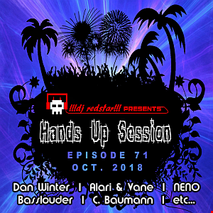 !!!dj redstar!!! - Hands Up Session EP. 71 (Oct. 2018)