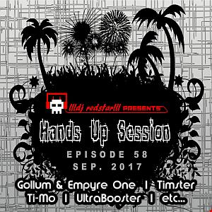 !!!dj redstar!!! - Hands Up Session EP. 58 (Sep. 2017)