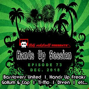 !!!dj redstar!!! - Hands Up Session EP. 73 (Dec. 2018)
