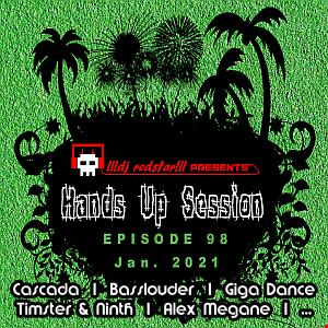 !!!dj redstar!!! - Hands Up Session EP. 98 (Jan. 2021)