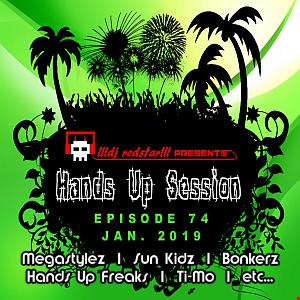!!!dj redstar!!! - Hands Up Session EP. 74 (Jan. 2019)