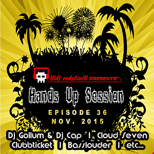 !!!dj redstar!!! - Hands Up Session EP. 36 (Nov. 2015)