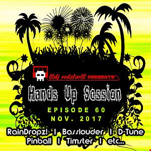 !!!dj redstar!!! - Hands Up Session EP. 60 (Nov. 2017)