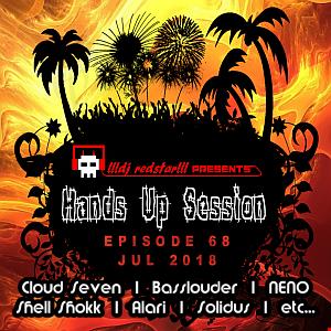 !!!dj redstar!!! - Hands Up Session EP. 68 (Jul. 2018)