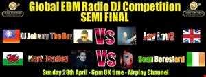 Jay Lov3 - Global EDM Radio DJ Competition Mix Semi Final Mix