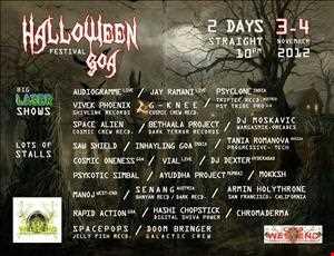 Halloween Fes 2012 @ Westend Goa